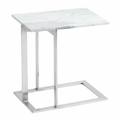 Alshain End Table Color: Silver