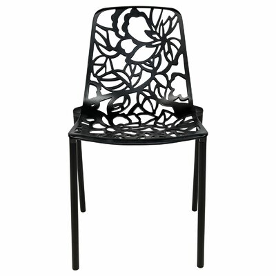 Avelar Dining Chair Color: Black