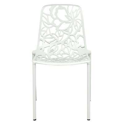 Avelar Dining Chair Color: White