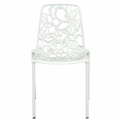 Avelar Dining Chair Color: White