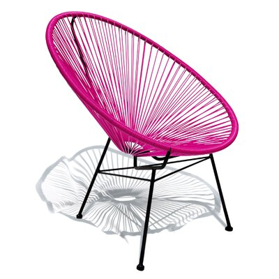 Bradley Papasan Chair Finish: Pink