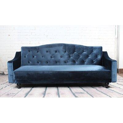 Delanie Sleeper Sofa Upholstery: Navy