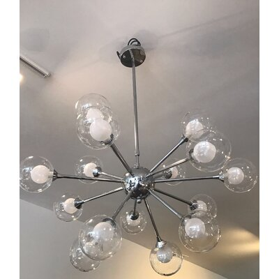 Trey 15-Light Sputnik Chandelier
