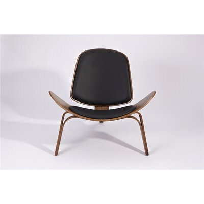 Dandre Lounge Chair Upholstery: Black