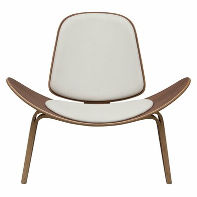 Dandre Lounge Chair Upholstery: White