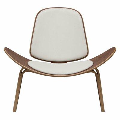Dandre Lounge Chair Upholstery: White
