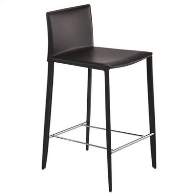 Jarrard 26 Bar Stool Color: Black
