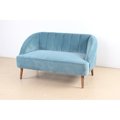 Koopman Loveseat Upholstery: Light Blue