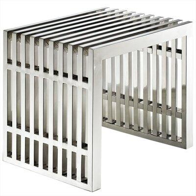 Renken Stainless Steel End Table