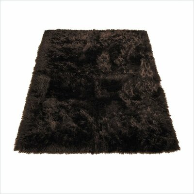 Animal Brown Area Rug Rug Size: Rectangle 33 x 47