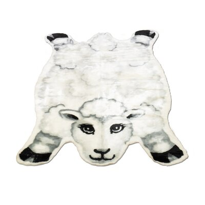 Sheep Kids Rug Rug Size: Novelty 23 x 38