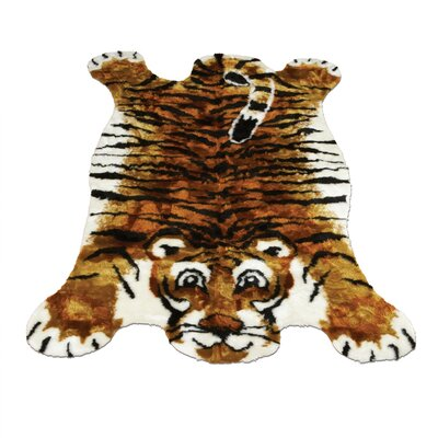 Tiger Kids Rug Rug Size: Novelty 47 x 67