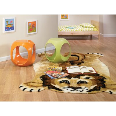 Lion Kids Rug Rug Size: Novelty 5 x 7