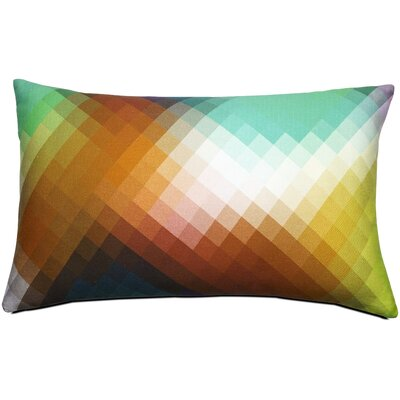 Pixel Cotton Lumbar Pillow