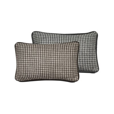 Houndstooth Lumbar Pillow