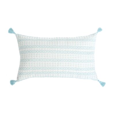 Zincantan Cotton Throw Pillow Color: Serenity