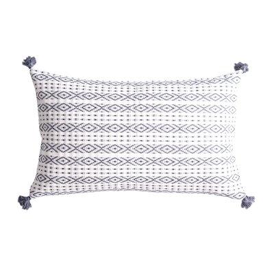 Zincantan Cotton Throw Pillow Color: Slate