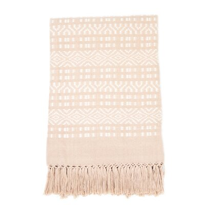 Chiapas Cotton Throw Color: Blush