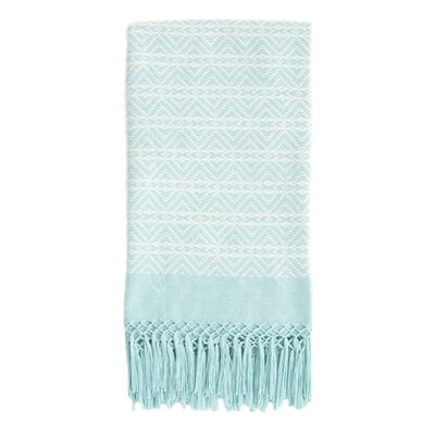 San Cristobal Cotton Throw Color: Serenity
