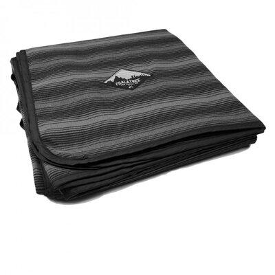 Kachula Adventure Flannel Throw Color: Black