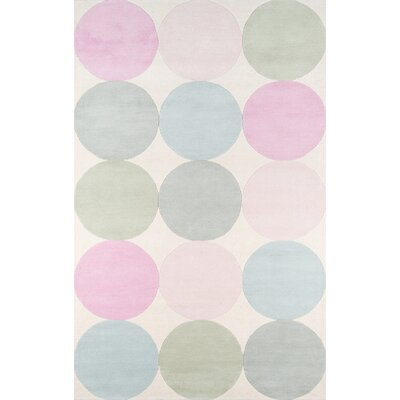 Agatha - Dots Hand-Tufted Area Rug Rug Size: Rectangle 5 x 8