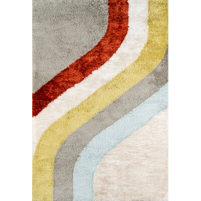 Classic Hand-Tufted Area Rug Rug Size: Rectangle 76 x 96