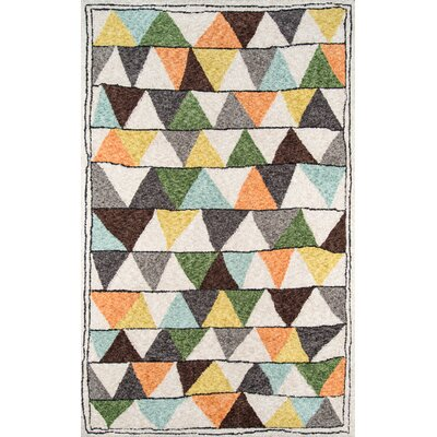 Bungalow Tri Area Rug Rug Size: Rectangle 76 x 96
