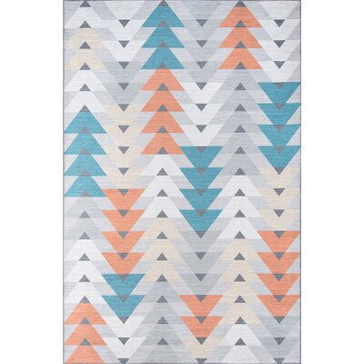 Foxnose Area Rug Rug Size: Rectangle 33 x 5