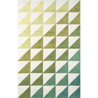 Agatha-Side Hand-Tufted Area Rug Rug Size: 36 x 56