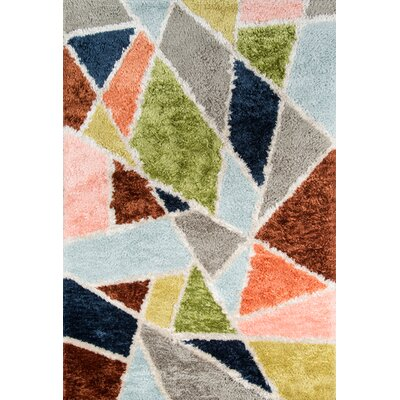 Prism Hand-Tufted Area Rug Rug Size: Rectangle 5 x 76