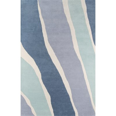 Sorbet Hand-Tufted Blue Area Rug Rug Size: Rectangle 36 x 56