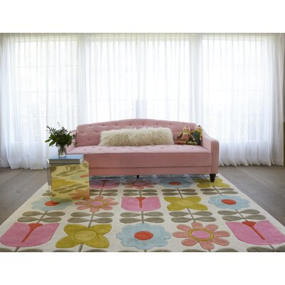 Flower Child Hand-Tufted Area Rug Rug Size: Rectangle 36 x 56