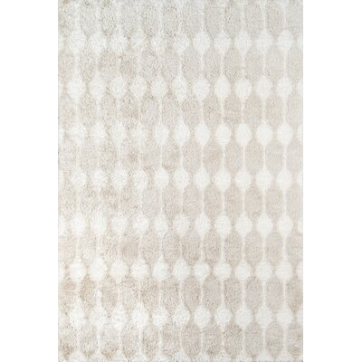 Stockings Hand-Tufted Taupe Area Rug Rug Size: Rectangle 5 x 76