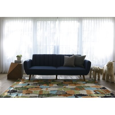 Bungalow Tiles Area Rug Rug Size: Runner 23 x 8