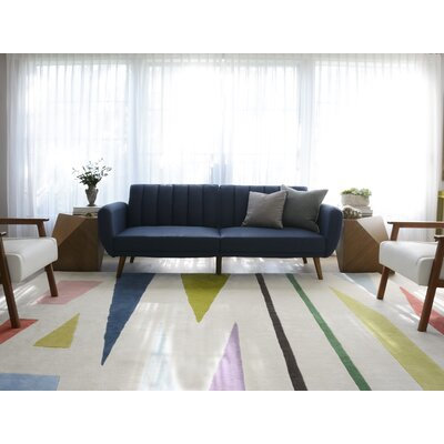 Family Wordplay Hand-Tufted Area Rug Rug Size: Rectangle 5 x 8