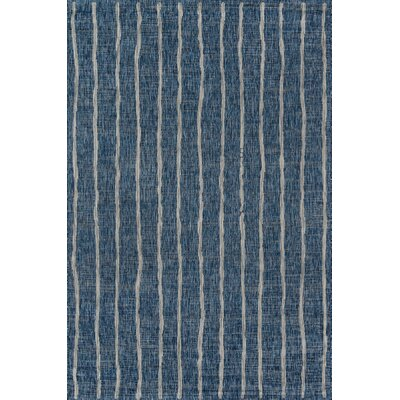 Sicily Blue Indoor/Outdoor Area Rug Rug Size: Rectangle 33 x 5