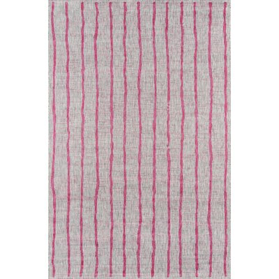 Sicily Fuschia Indoor/Outdoor Area Rug Rug Size: Rectangle 53 x 76