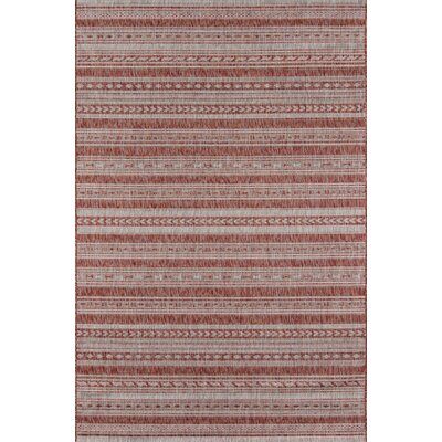 Tuscany Copper Indoor/Outdoor Area Rug Rug Size: Rectangle 53 x 76