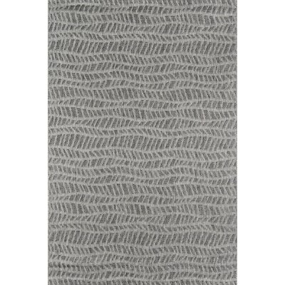 Emilia Gray Indoor/Outdoor Area Rug Rug Size: Rectangle 93 X 126