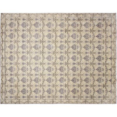 One-of-a-Kind Bellview Hand-Knotted Rectangle Blue Area Rug