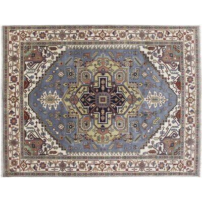 One-of-a-Kind Bellview Hand-Knotted Rectangle Gray Area Rug