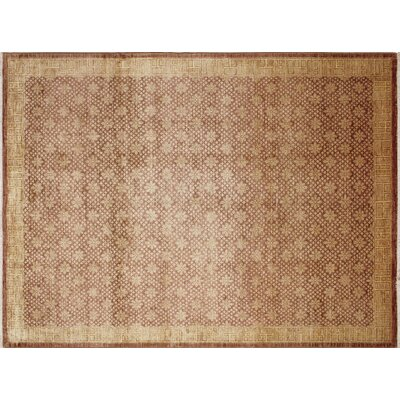 Montague�Hand-Knotted Light Brown Area Rug