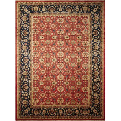 Montague�Hand-Knotted Oriental Red Area Rug