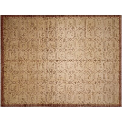 One-of-a-Kind Montague� Hand-Knotted Gold Area Rug