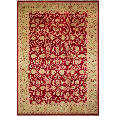 One-of-a-Kind Montague�Hand-Knotted Red Area Rug