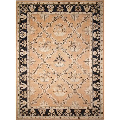 Leann Hand-Knotted Red IndoorArea Rug