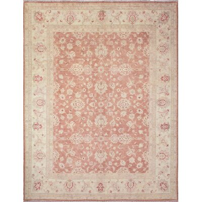 Leann Hand-Knotted Rose Area Rug
