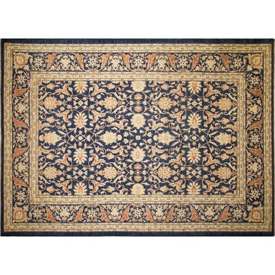 Leann Hand-Knotted Rectangle Area Rug