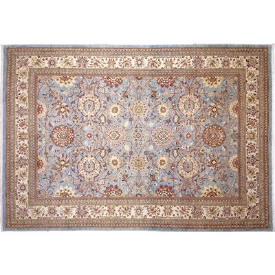 Leann Hand-Knotted Light BlueArea Rug