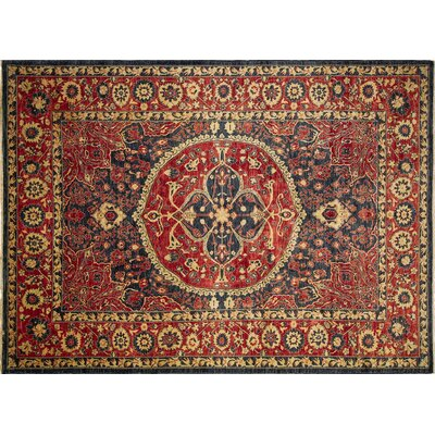 Montague�Hand-Knotted Rectangle Blue Area Rug